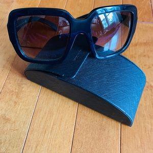 Prada Black Square Sunglasses